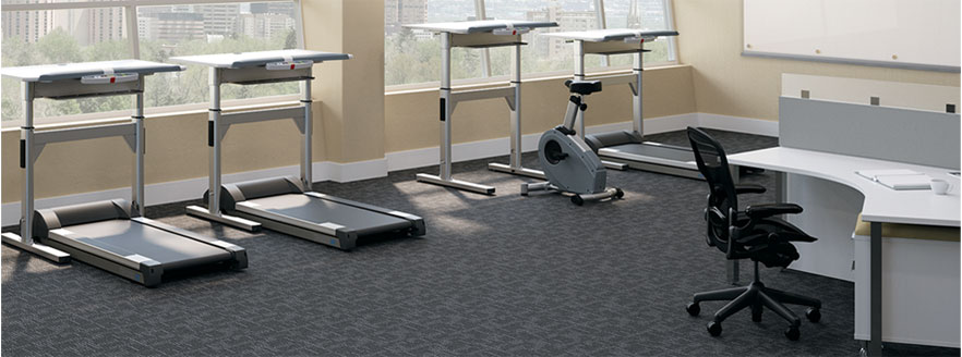 corporate office active workstations