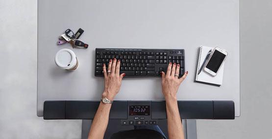 LifeSpan Workplace C3-DT5 Manual Office Bike Desk